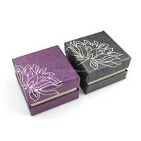PR1001 Popular recycled paper gift box,ring display box in wholesale