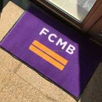 Advertising Front Door Customized Logo Carpet