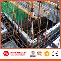 Aluminum standard beam steel formwork for walls aluminum extrusion shapes