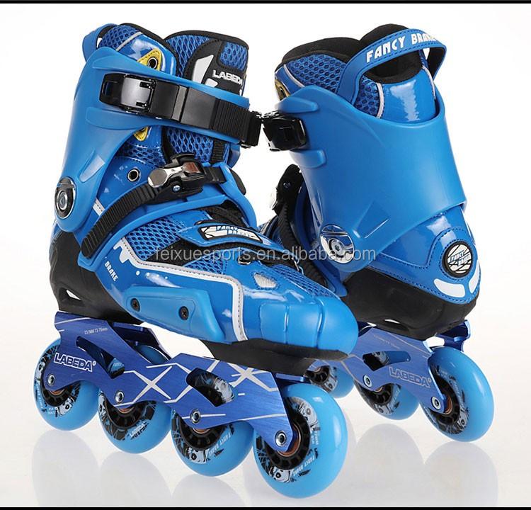 Profesional Rem Sepatu Baris Tunggal Sepatu Roda Katrol