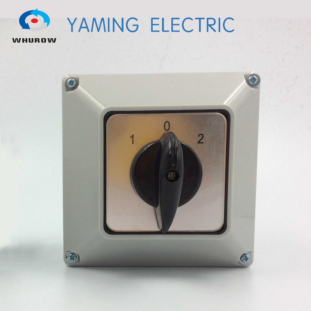 China Lieferant umschalter 63A 3 Position 2 pole elektrischen ...