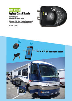 keyless RV lock Class C motorhome lock RV & Leisure Travel Vans lock