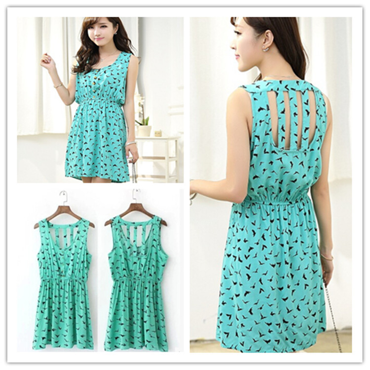 57f4d0ce14f New 2015 Women Casual Dress Eagle Leopard Print Summer Dress Women vestido  leopardo Brand Dresses Hollow back Plus Size Clothing
