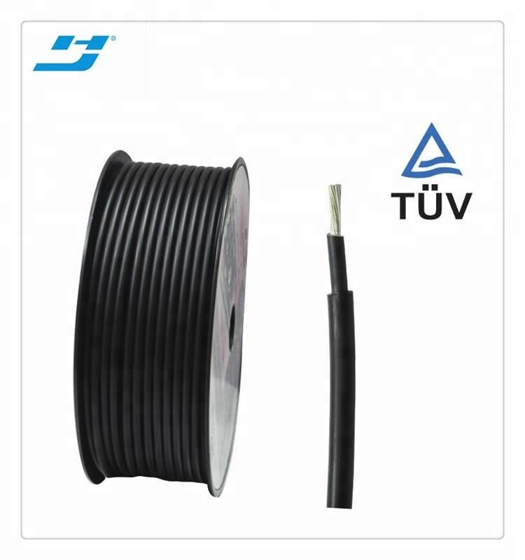 TUV approved single core solar cable 25mm2 pv wire