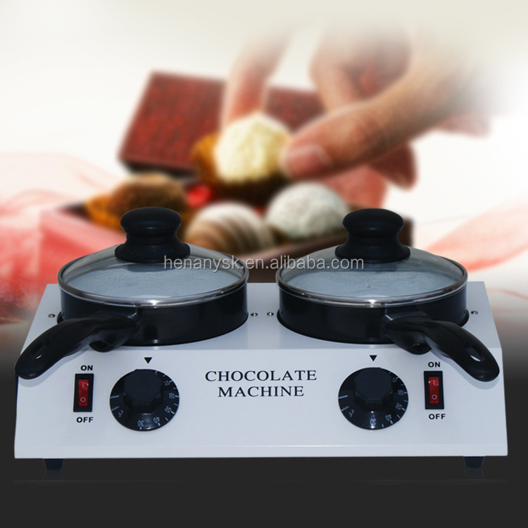 Chocolate Melting Machine New Electric Chocolate Stove Commercial Electric Chocolate Tempering Machine