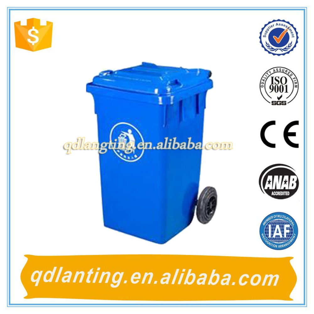 120l 240l best dustbin/steel waste bin