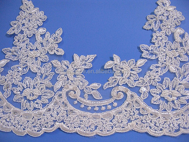 Cord Lace Trim For Bridal Dress/wholesale Bridal Trims /lace Trim ...