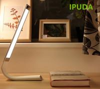 IPUDA Brand Eye Protection Reading LED Light Dimmable Desk Plastic Table Lamp for Children