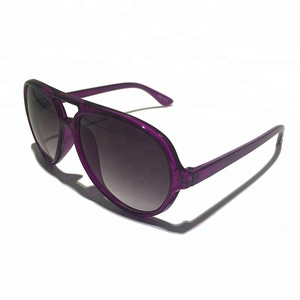 Wholesale China Factory PC Material Vintage Design Sunglasses Double Bridge Men/Women Sunglasses