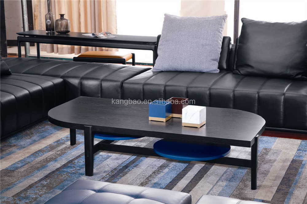 VVSOFA Living room MDF with red oak veneer coffee table set Foshan China