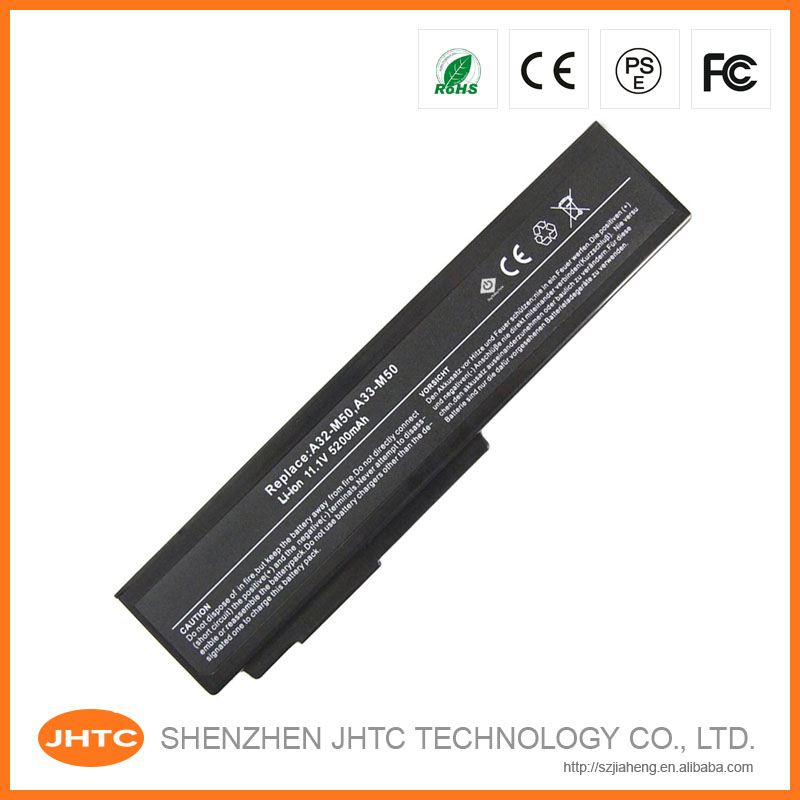 Replacement Laptop battery for Asus G50V G51V G60 M50 N43 N61 X64 A32-M50 A32-N61 L072051