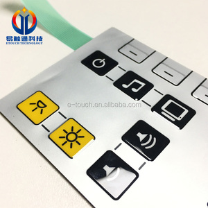 F150 hard coated PET film for membrane switch