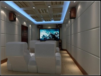Yingzhe Decorative Acoustic Fabric Covered Fibergl Wall Panels For Home Theater