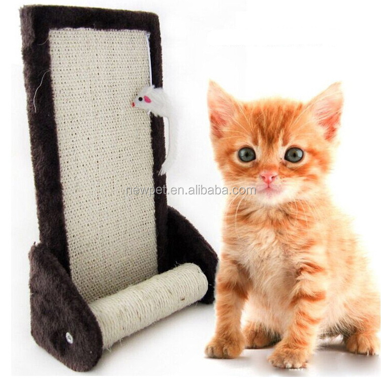 Cheap eco-friendly stylish cat scratcher board and tree cardboard pet toy