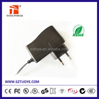 Power adapter 12v 1000ma 110v to 12v ac adapter UL CE FCC RoHS certified