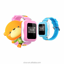 Sos real time location wrist watch gps tracking device for kids elderly