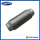 Flexible pipe exhaust muffler tips