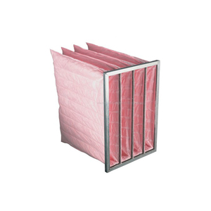 F5 F6 F7 F8 F9 Aluminium Medium Efficiency Syntheticr Bag Air Filter