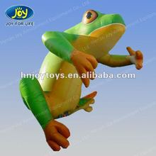 2012 lovely and vivid inflatable frog