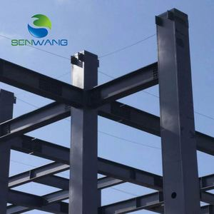 Multi Floor Steel Structure For Car Parking