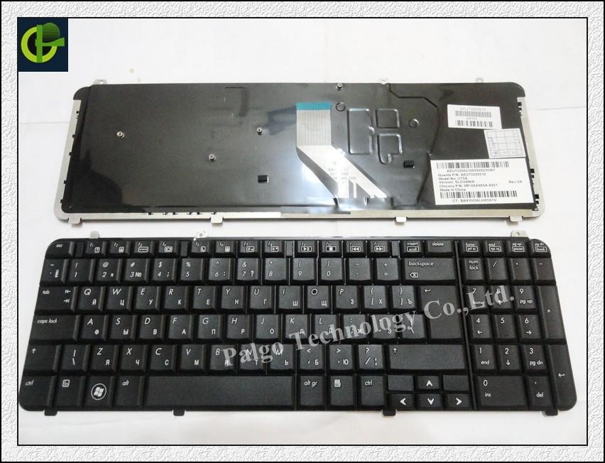 Русская клавиатура для HP Pavilion DV6 DV6T DV6-1000 DV6-1200 DV6T-1100 DV6T-1300 DV6-2000 RU черного клавиатуре ноутбука