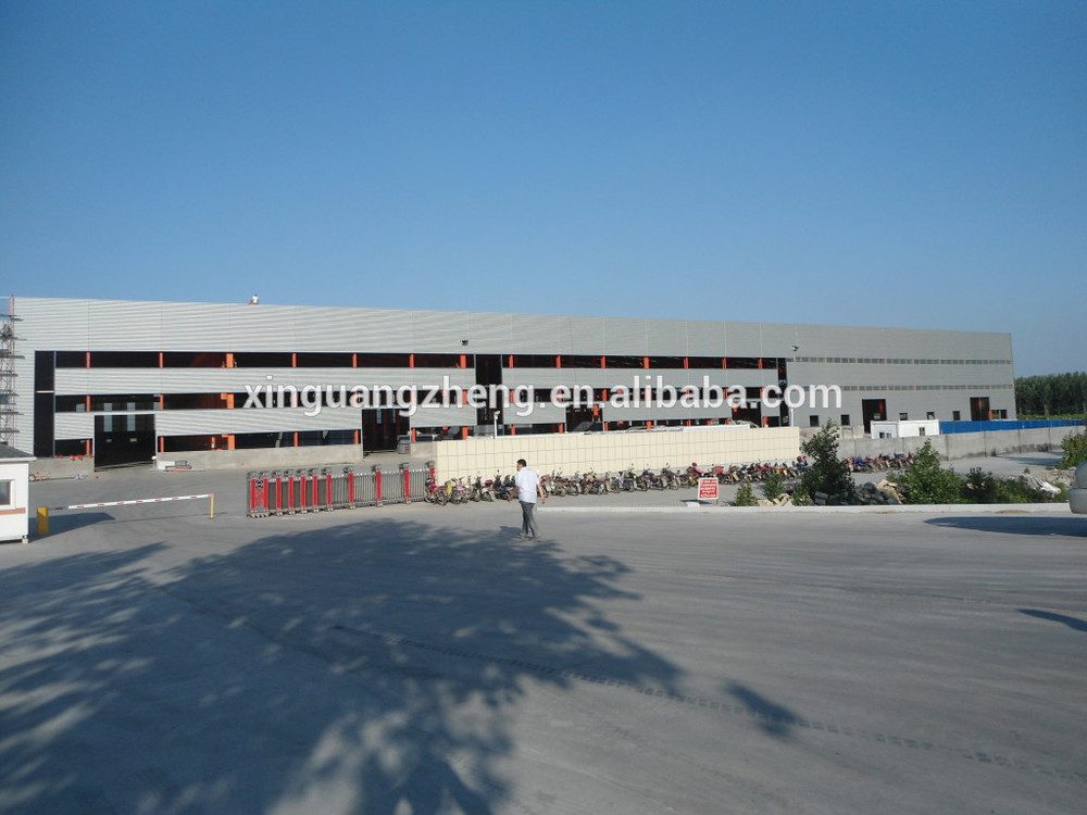 modern high quality large span steel arch warehouse