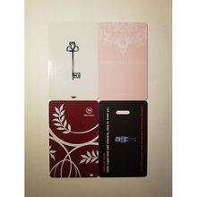 Access control management Customized 13.56MHZ TK4100 hotel ving key card