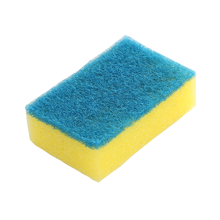 Heavy Duty Scouring Pad Sponge Eco-Friendly Kitchen Scouring Pad With Sponge Cheap Dishwashing Sponge
