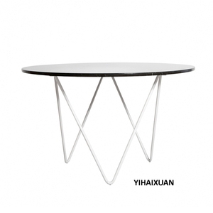 Fashion marble top round furniture dining table