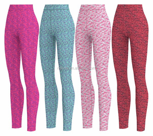 Womens High Waist Yoga Pants Sports Gym Colorful Yoga Pants Running Fitness Leggings Custom Compression Pants