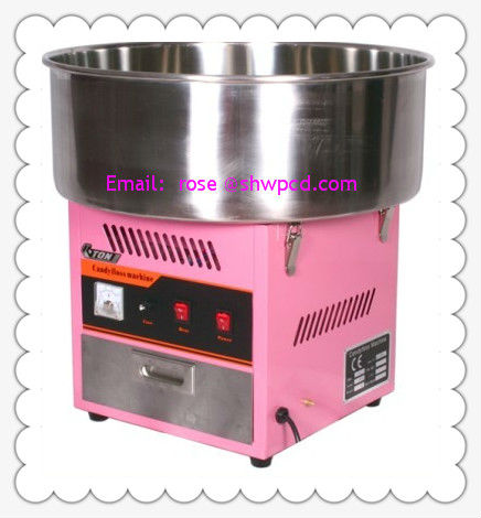 Electric cotton candy floss machine home manufactuer/industrial cotton candy machine
