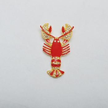 les plus récents couleur rapide Bons prix Red Lobster Animal Cristalino De La Broche Grande - Buy Cristal Broche  Grande,Langosta Cristal Broche Animal Grande,Rojo Cristal Broche Grande  Product ...