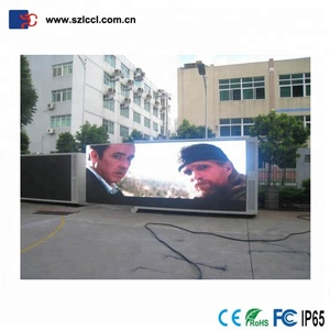 P6 big commercial outdoor electronic advertising led display screen