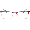 Custom high quality unisex metal frame optical eyeglasses