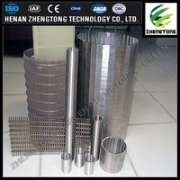 high quality wedge wire screen filter pipe johnson screen