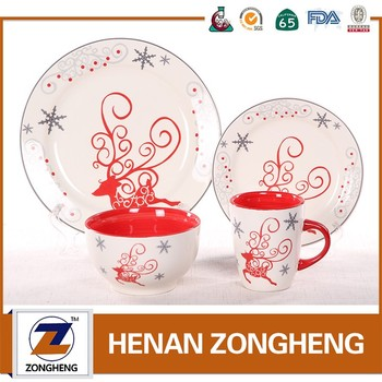2017 New Design Reindeer Decal Top Choice Wholesale Ceramic ...