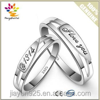 nine rings ring product number engagement silver sterling crystal inlay wedding party size jewelry low price popular