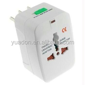 Universal World Plug All-in-one travel kit international power supply adapter usb optional