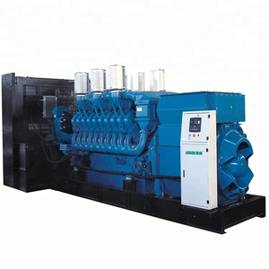 Global Warranty 2mW Germany MTU Genset 2500kVA Diesel Generator Price