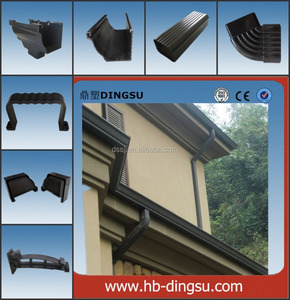 Competivity Quality PVC Profile for roof Made In China pvc rain gutter