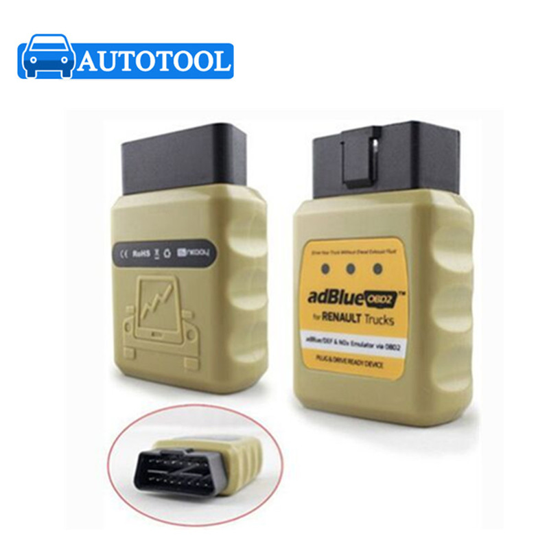 Новое поступление грузовик AdblueOBD2 эмулятор Renault Adblue / DEF Nox эмулятор через OBD2 Adblue OBD2 для Renault грузовик Adblue эмулятор