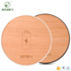 Custom Wood QI Fast Wireless Charger Pad For iPhone 8 For iPhone X One-On-One Bamboo Mobile Phone USB Charger Common For Samsung