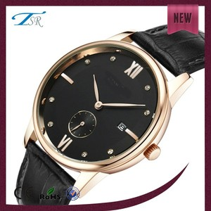 luxury wrist watch Black watches with beautiful face fashion style timepieces