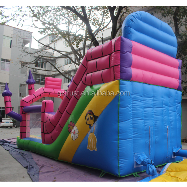 High quality inflatable bouncer slide combo inflatable castle slide for sale