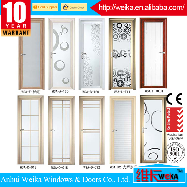 Low Price Interior Frosted Gl Bathroom Door Manufactured In China