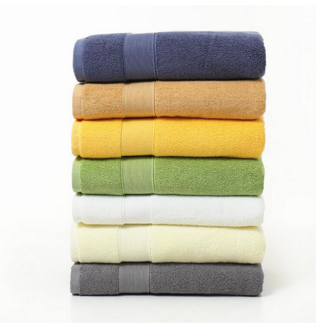100 Cotton Towels Cut Pile Cotton Face Towel Hand Towel
