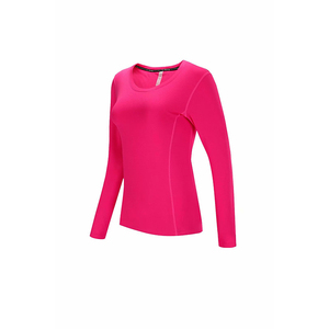 Women Running T Shirts Quick Dry Basketball Soccer Training Jersey Sports Workout Fitness Gym Shirt wholesale