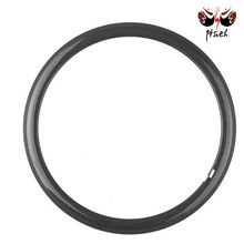 Fibra Tamanho do Aro 700c Road Bike Clincher Tubular 38mm