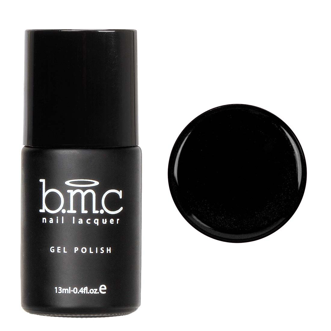 BMC Fashionably Classic Noir Black UV/LED Cream One-Step Speed Gel Nail Polish - Fundamentals, Cocktail Dress