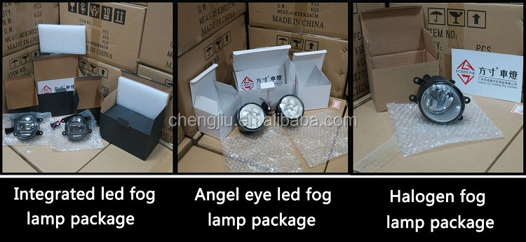 LED Lamp Type and CE Certification Auto Spare Parts for Suzuki Ertiga 2014-up Foglight
